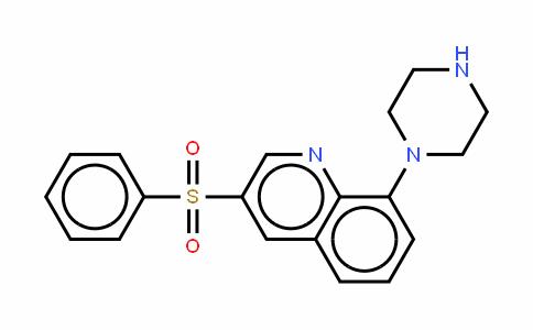 3-苯基磺酰基-8-(哌嗪-1-基)喹啉