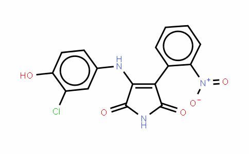 3-[(3-氯-4-羟苯基)氨基]-4-(2-硝苯基)-1H-吡咯-2,5-二酮