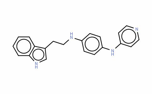 N-[2-(1H-吲哚-3-基)乙基]-N'-(4-吡啶基)-1,4-苯二胺