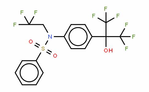 N-(2,2,2-三氟乙基)-N-[4-[2,2,2-三氟-1-羟基-1-(三氟甲基)乙基]苯基]-苯磺酰胺