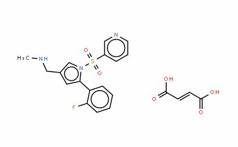 富马酸沃诺拉赞(TAK-438, Vonoprazan fumarate)