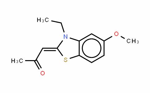 (Z)-1-(3-乙基-5-甲氧基-2,3-二羟基并噻唑-2-亚基)丙酮