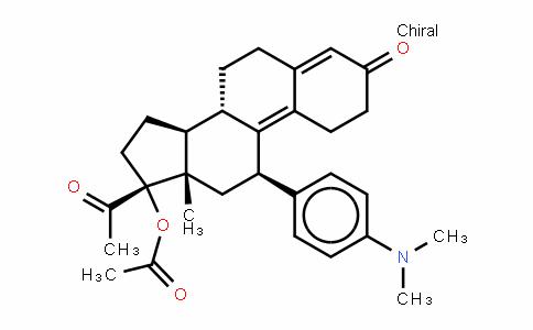 (11b)-17-(乙酰氧基)-11-[4-(二甲基氨基)苯基]-19-去甲孕甾-4,9-二烯-3,20-二酮