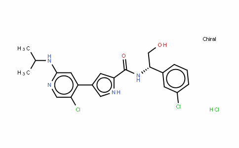 4-[5-氯-2-[(1-甲基乙基)氨基]-4-吡啶基]-N-[(1S)-1-(3-氯苯基)-2-羟基乙基]-1H-吡咯-2-甲酰胺