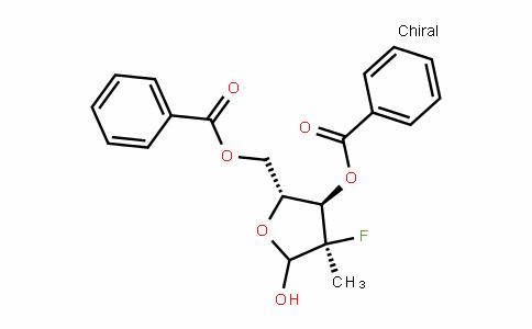 ((2R,3R,4R)-3-(benzoyloxy)-4-fluoro-5-hyDroxy-4-methyltetrahyDrofuran-2-yl)methyl benzoate