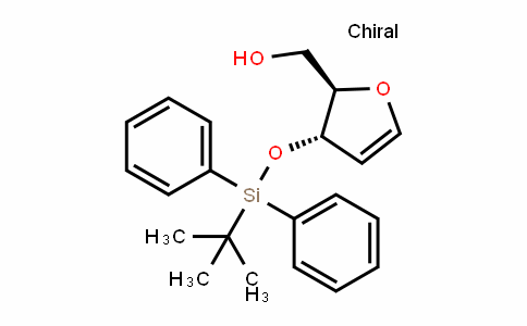 1,4-脱水-2-脱氧-3-O-[(叔丁基)二苯基硅]-D-赤式-戊-1-烯糖醇
