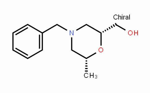 ((2R,6R)-4-benzyl-6-methylmorpholin-2-yl)methanol