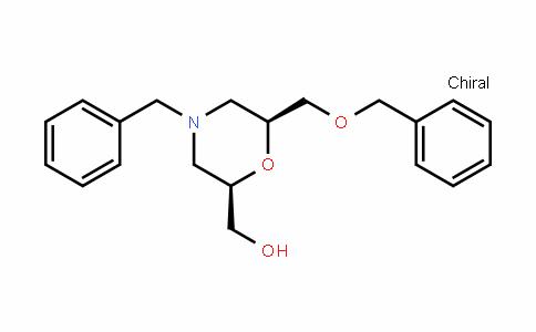 ((2R,6S)-4-benzyl-6-(benzyloxymethyl)morpholin-2-yl)methanol