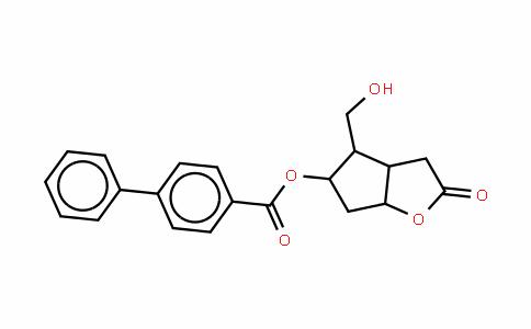 (3AR,4S,5R,6AS)-六氢-4-(羟甲基)-2-氧代-2H-环戊并[B]呋喃-5-基 1,1'-联苯-4-甲酸酯
