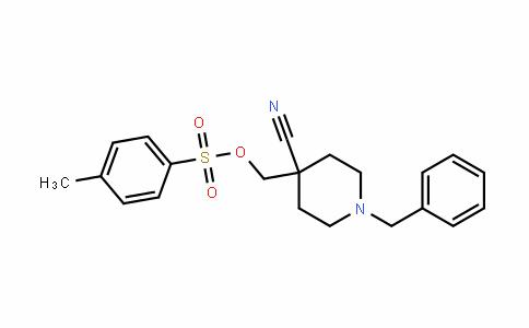(1-benzyl-4-cyanopiperiDin-4-yl)methyl 4-methylbenzenesulfonate