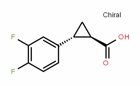 (1R,2R)-2-(3,4-Difluorophenyl)cyclopropanecarboxylic acid