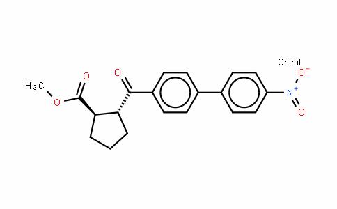 (1R,2R)-methyl 2-(4'-nitrobiphenylcarbonyl)cyclopentanecarboxylate