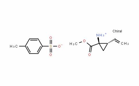 (1R,2S)-1-氨基-2-乙烯基环丙烷甲酸甲酯 4-甲基苯磺酸盐