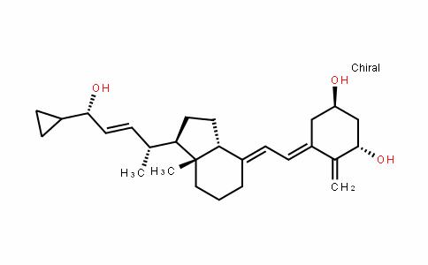 (1R,3S,E)-5-((E)-2-((1R,3aR,7aR)-1-((2R,5S,E)-5-cyclopropyl-5-hyDroxypent-3-en-2-yl)-7a-methylDihyDro-1H-inDen-4(2H,5H,6H,7H,7aH)-yliDene)ethyliDene)-4-methylenecyclohexane-1,3-Diol