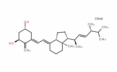 (1R,3S,E)-5-((E)-2-((1R,3aS,7aR)-1-((2R,5R,E)-5,6-Dimethylhept-3-en-2-yl)-7a-methylDihyDro-1H-inDen-4(2H,5H,6H,7H,7aH)-yliDene)ethyliDene)-4-methylenecyclohexane-1,3-Diol