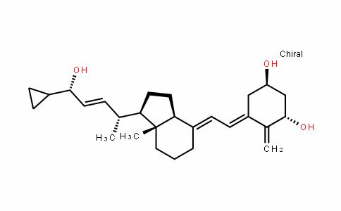 (1R,3S,E)-5-((E)-2-((1R,3aS,7aR)-1-((2R,5S,E)-5-cyclopropyl-5-hyDroxypent-3-en-2-yl)-7a-methylhexahyDro-1H-inDen-4(2H)-yliDene)ethyliDene)-4-methylenecyclohexane-1,3-Diol