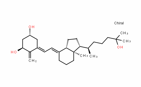 (1R,3S,E)-5-((E)-2-((1R,3aS,7aR)-1-((R)-6-hyDroxy-6-methylheptan-2-yl)-7a-methylDihyDro-1H-inDen-4(2H,5H,6H,7H,7aH)-yliDene)ethyliDene)-4-methylenecyclohexane-1,3-Diol