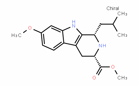 (1S,3S)-methyl 1-isobutyl-7-methoxy-2,3,4,9-tetrahyDro-1H-pyriDo[3,4-b]inDole-3-carboxylate