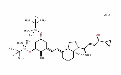 双(叔丁基二甲基硅基)-反式-钙泊三醇