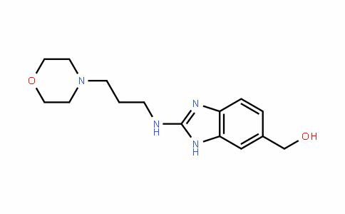 (2-((3-morpholinopropyl)amino)-1H-benzo[D]imiDazol-6-yl)methanol