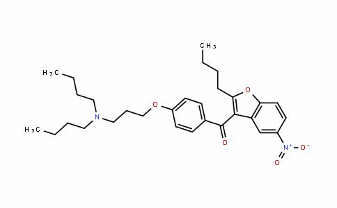 (2-丁基-5-硝基-3-苯并呋喃基)[4-[3-(二丁基氨基)丙氧基]苯基]甲酮