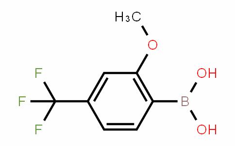 (2-methoxy-4-trifluoromethylphenyl)boronic acid