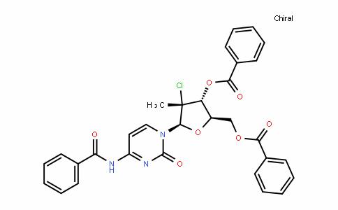 (2R,3R,4R,5R)-5-(4-benzamiDo-2-oxopyrimiDin-1(2H)-yl)-2-((benzoyloxy)methyl)-4-chloro-4-methyltetrahyDrofuran-3-yl benzoate