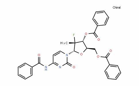 (2R,3R,4R,5S)-5-(4-benzamiDo-2-oxopyrimiDin-1(2H)-yl)-2-((benzoyloxy)methyl)-4-fluoro-4-methyltetrahyDrofuran-3-yl benzoate