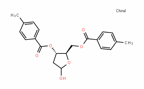 (2R,3S)-5-hyDroxy-2-(((4-methylbenzoyl)oxy)methyl)tetrahyDrofuran-3-yl 4-methylbenzoate