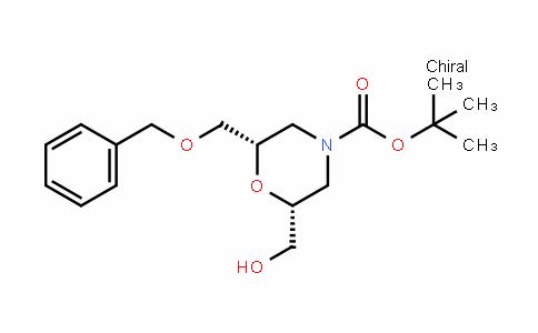 (2S,6R)-Tert-butyl 2-(benzyloxymethyl)-6-(hyDroxymethyl)morpholine-4-carboxylate