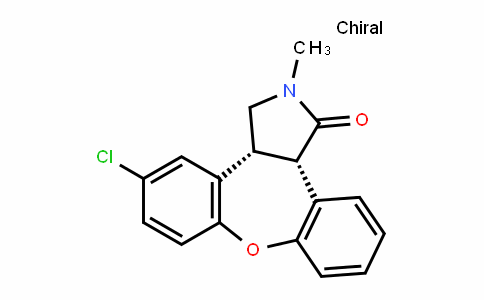(3aR,12bS)-5-chloro-2-methyl-2,3,3a,12b-tetrahyDro-1H-Dibenzo[2,3:6,7]oxepino[4,5-c]pyrrol-1-one