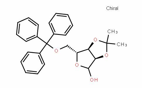 (3aR,6R,6aR)-2,2-Dimethyl-6-((trityloxy)methyl)tetrahyDrofuro[3,4-D][1,3]Dioxol-4-ol