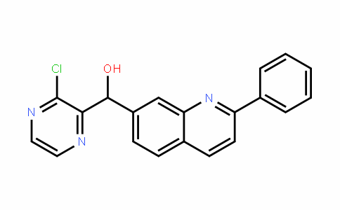 (3-chloropyrazin-2-yl)(2-phenylquinolin-7-yl)methanol
