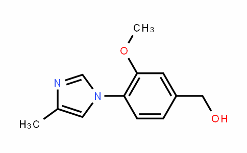 (3-methoxy-4-(4-methyl-1H-imiDazol-1-yl)phenyl)methanol