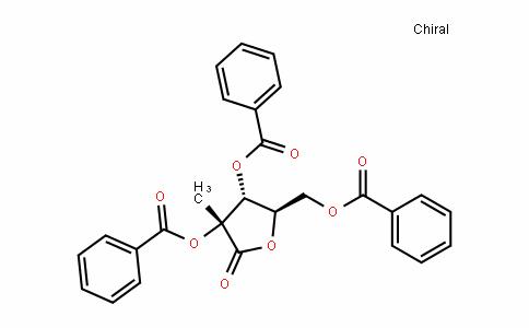 (3R,4R,5R)-5-((benzoyloxy)methyl)-3-methyl-2-oxotetrahyDrofuran-3,4-Diyl Dibenzoate