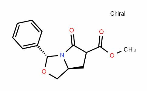 (3R,7aS)-methyl 5-oxo-3-phenylhexahyDropyrrolo[1,2-c]oxazole-6-carboxylate