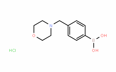 (4-(morpholinomethyl)phenyl)boronic acid (hyDrochloriDe)