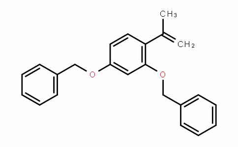 (4-(prop-1-en-2-yl)-1,3-phenylene)bis(oxy)bis(methylene)Dibenzene
