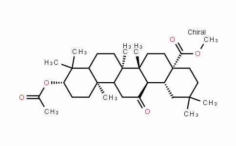 (4aS,6aR,6bR,10S,12aR,14aR,14bR)-methyl 10-acetoxy-2,2,6a,6b,9,9,12a-heptamethyl-14-oxo-DocosahyDropicene-4a-carboxylate