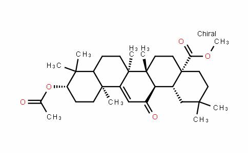 (4aS,6aR,6bS,10S,12aS,14aR,14bR)-methyl 10-acetoxy-2,2,6a,6b,9,9,12a-heptamethyl-14-oxo-1,2,3,4,4a,5,6,6a,6b,7,8,8a,9,10,11,12,12a,14,14a,14b-icosahyDropicene-4a-carboxylate