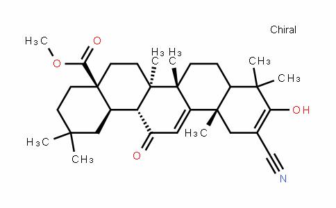 (4aS,6aR,6bS,12aS,14aR,14bR)-methyl 11-cyano-10-hyDroxy-2,2,6a,6b,9,9,12a-heptamethyl-14-oxo-1,2,3,4,4a,5,6,6a,6b,7,8,8a,9,12,12a,14,14a,14b-octaDecahyDropicene-4a-carboxylate