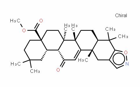 Oleana-2,9(11)-Dieno[2,3-D]isoxazol-28-oic acid, 12-oxo-, methyl ester