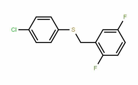 (4-chlorophenyl)(2,5-Difluorobenzyl)sulfane