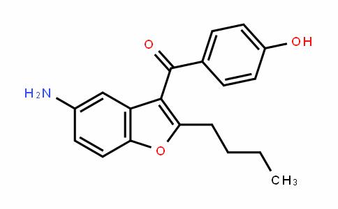 (5-amino-2-butyl-1-benzofuran-3-yl)(4-hyDroxyphenyl)methanone