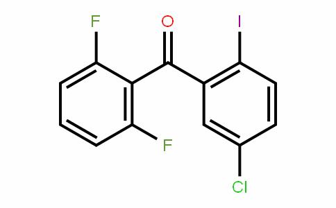 (5-CHLORO-2-IODOPHENYL) 2,6-DIFLUOROPHENYL mETHANO