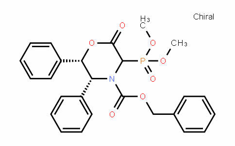 (5R,6S)-benzyl 3-(Dimethoxyphosphoryl)-2-oxo-5,6-Diphenylmorpholine-4-carboxylate