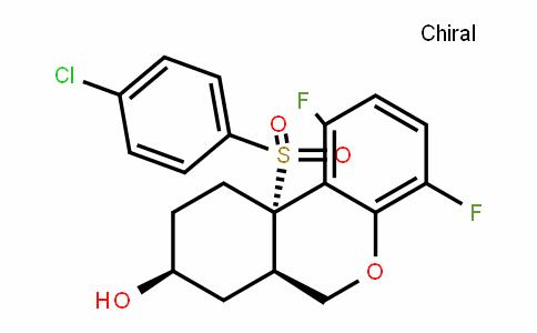 (6aR,8S,10aS)-10a-(4-chlorophenylsulfonyl)-1,4-Difluoro-6a,7,8,9,10,10a-hexahyDro-6H-benzo[c]chromen-8-ol