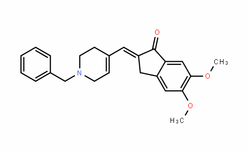 (E)-2-((1-benzyl-1,2,3,6-tetrahyDropyriDin-4-yl)methylene)-5,6-Dimethoxy-2,3-DihyDro-1H-inDen-1-one