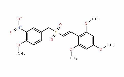 (E)-2,4,6-Trimethoxystyryl 4-methoxy-3-Nitrobenzyl sulfone
