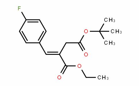 (E)-4-Tert-butyl 1-ethyl 2-(4-fluorobenzyliDene)succinate